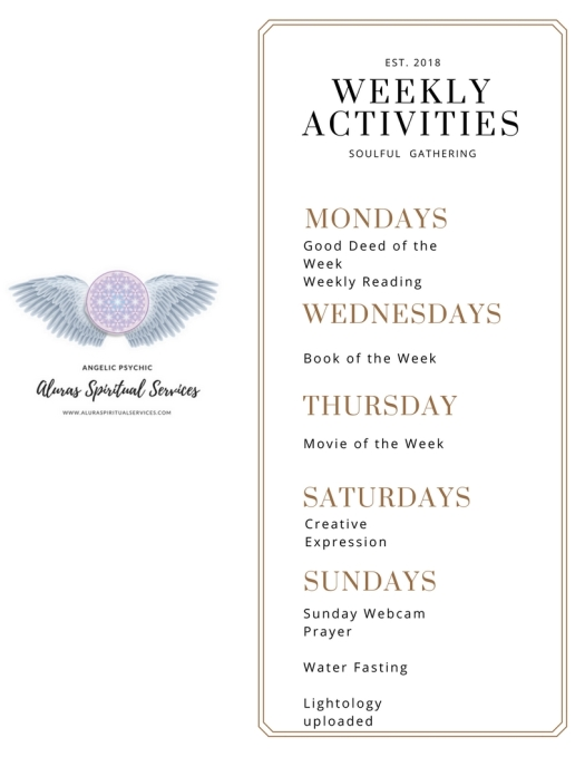WeeklyActivities