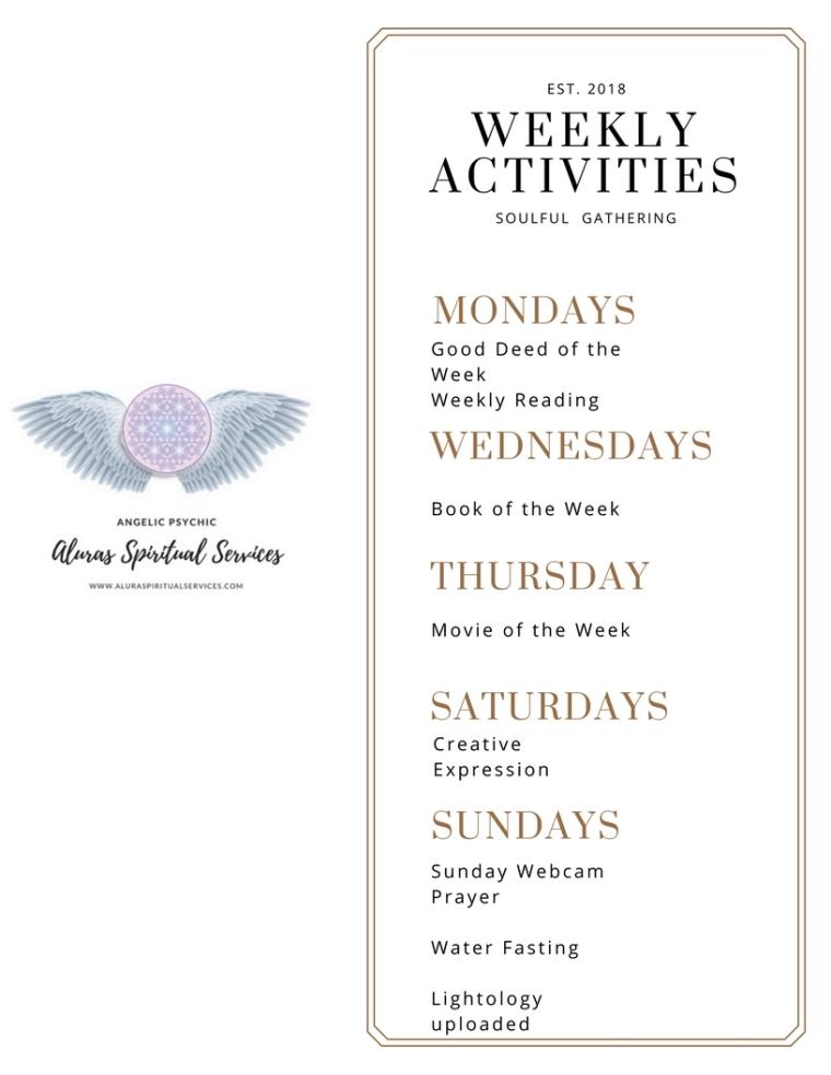 WeeklyActivities